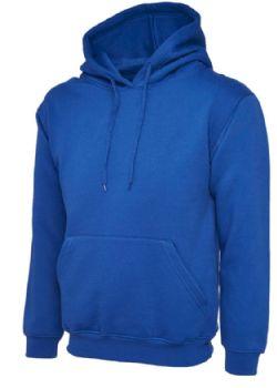 Personalised Royal Blue Embroidered Hoodie XL SALE